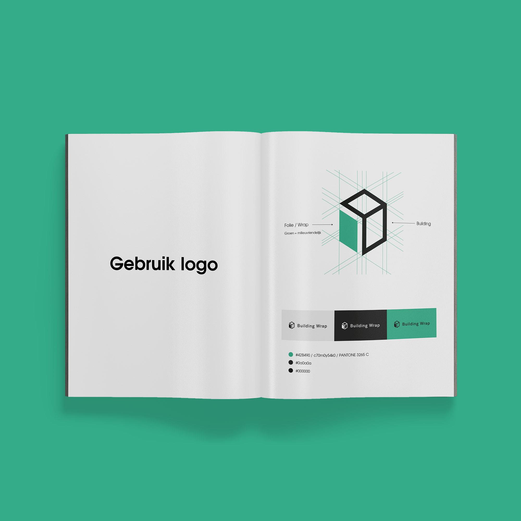 logo en huisstijl handboek